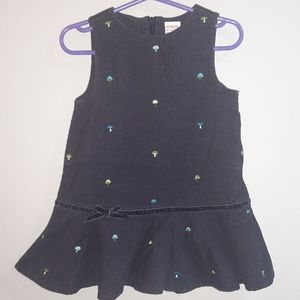 Gymboree Vintage Hide & Seek Jumper Dress Pinafore